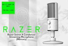 Razer Seiren X USB Streaming Microphone *SPECIAL MERCURY WHITE EDITION*