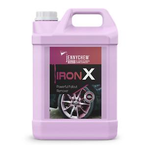Iron X Bleeding Fallout Remover Car Alloy Wheel Cleaner De-Contaminant 5L