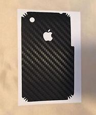 Apple iPhone 3GS, 3G - carbon vinyl rear cover