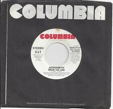 Aerosmith- EP 45RPM - Draw the Line, Promo, Stereo/ Mono, 1977 Columbia 3-10637