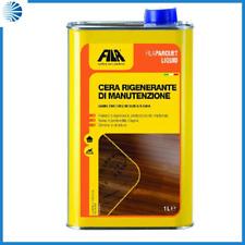 Fila parquet liquid cera liquida per legno rigenerante manutenzione lt.1