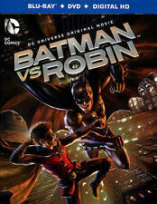 Batman vs. Robin (Blu-ray/DVD, 2015, 2-Disc Set + Digital Copy BRAND NEW FreeShp