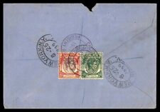 Straits Settlements 1939 Registered Singapore L to Chicago IL cover