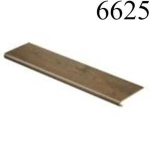 Cap a Tread 47 in. Length Laminate to Cover Stairs Chestnut Brown 1 Piece Single