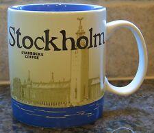 NWT Starbucks STOCKHOLM Sweden Global Icon City Collector Series Mug with SKU