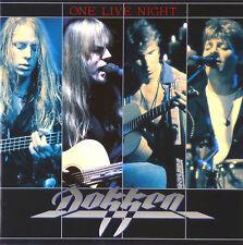 CD - Dokken - One Live Night - #A1225 - RAR