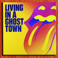 """THE ROLLING STONES - LIVING IN A GHOST TOWN   10"""" Orange Vinyl Limited   SEALED"""