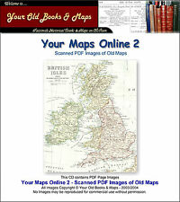 300 Old Maps & Plans on CDROM - Your Maps Online 2