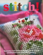 Stitch! by Cath Kidston 30 Needlepoint and Cross Stitch Projects Paperback Book