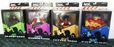 COMPLETE Set 4 ORIGINAL Graffiti MEZCO Hoodz RARE Vinyl Figure LIMITED 2002 MIB