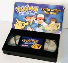 Pokemon Sneak Peek VHS (Nintendo, 1998 Promo)