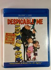 Despicable Me (Blu-ray/DVD, 2012, 3-Disc Set, 3D)