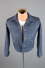 Vtg 70s Maverick Deadstock NOS Blue Bell Denim Jacket Boys sz 16 Men's XS #2041