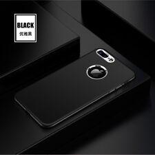 Coque housse bumper en silicone luxueuse supérieure pour Apple iPhone 6/6S noire