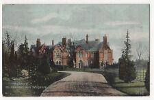 Highbury Mr Chamberlain's Residence Birmingham 1906 Postcard 855b