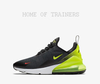 Nike Air Max 270 SE Anthracite Black Bright Crimson Volt Trainers All Sizes