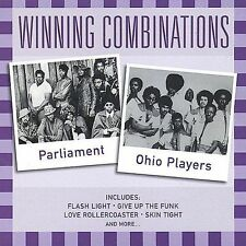 Winning Combinations: Parliment & Ohio Players by Parliament CD Mint #DB67