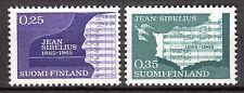 Finland - 1965 Jean Sibelius - Mi. 603-04 MNH