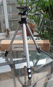 GAKKEN GT33 PRO CAMERA TRIPOD for cine still phone home movie film studio pic