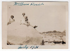 1931 WILBUR'S POINT Fairhaven Massachusetts REAL PHOTO Photograph SCONTICUT NECK