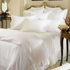 Sferra Giza 45 Percale 4-piece White Queen sheet set