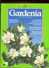GARDENIA*FIORI PIANTE ORTI E GIARDINI* N.61  1989 *MONDADORI