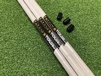 3 X New KBS Tour Custom Wedge Shafts Stiff. White Pearl with Gold Label