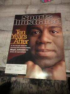 August 20, 2001 Magic Johnson HIV Los Angeles Lakers Sports Illustrated