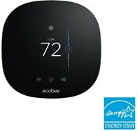 Smart Wall Thermostat Touchscreen 7 Day Program HV/AC Control Remote Devices