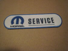 "New 4"" Mopar Service Performance Dodge Automobile Iron on Patch Sew-on"