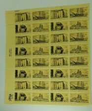 1971 Historic Preservation 8 Cent Sheet of 32 Mint