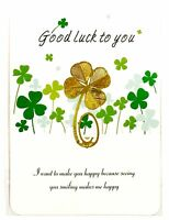 Irish Lucky Clover Gold Plated Bookmark - 3 in a set for only $9.50!