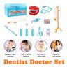 Dentist Doctor Medical Set Educational Toy Kids Role Play Pretend 15PCS Kit Case