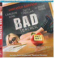 BAD TEACHER (Blu-ray/DVD, 2011)