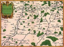 Reproduction carte ancienne - Thiérache 1659