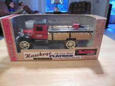 Ertl Hawkeye 1931 True Value Flatbed Truck Die Cast Metal Lumber Load Bank