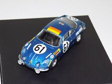1/43 Trofeu Alpine Renualt A110 #61 1968 24 Hours of LeMans TRF 806
