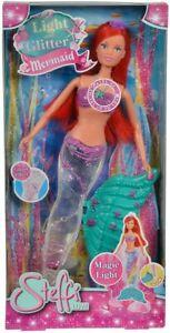 Simba Steffi Love Light & Glitter Zeemeermin Mermaid Kids Interactive Toy New