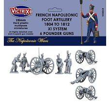 Victrix - French Napoleonic Artillery 1804-1812 XI System  - 28mm