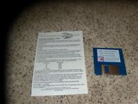 "Win, Lose or Draw IBM/Tandy 3.5"" disk Mint with Quick Start Card"