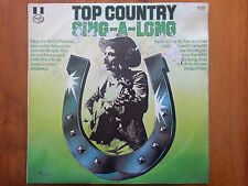 "Various Artists, Top Country Sing-A-Long, Vinyl 12"" LP Record,  MFP 5975"