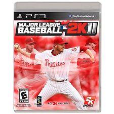 BRAND NEW PS3 Major League Baseball MLB 2K11 Game PlayStation 3