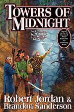 Wheel of Time Ser.: Towers of Midnight by Brandon Sanderson and Robert Jordan (2010, Hardcover)