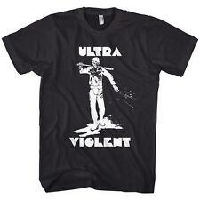 A Clockwork Orange Ultra Violent Mens Gildan Softsyle Solid Black T-shirt