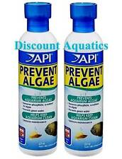 API Prevent Algae (Twin Pack) Aquarium Fish Tank Anti Algae Treatment - 237ml