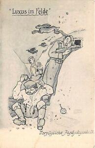 Lot169  lehmann dumont artist signed hunting opportunity germany comic postcard