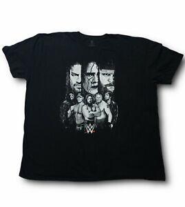 WWE T-shirt  Men's 3XL Sting John Cena Daniel Bryan Brock Lesnar & More Black