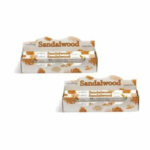Stamford Premium Sandalwood Hex Incense Stick 12 Pack - Total 240 Stick