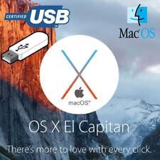 Mac OS X El Capitan 10.11 on a Kingston 32Gb USB3 drive.