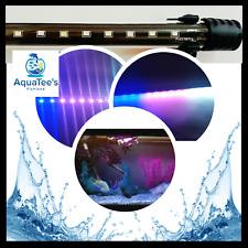 RECENT RCT 30CM 16 LED AQUARIUM LAMP SUBMERSIBLE FISH TANK LIGHT PINK/BLUE/WHITE